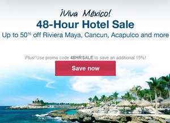 Orbitz: venta especial de hoteles en México + 15% de descuento extra