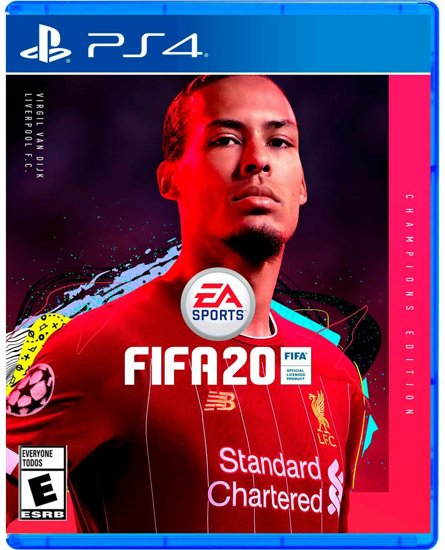 Game Planet FIFA 20 CHAMPIONS EDITION para PS4