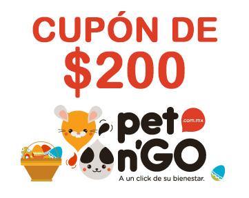 pet n'GO: cupón de $200 de descuento en compras de $599