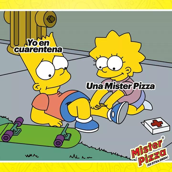 Sindelantal: Mister Pizza pizza a tan solo 50 pesos con envío gratis.