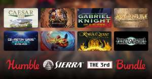 Humble Bundle [PC]: Humble Sierra the 3rd Bundle - Hasta 17 juegos clásicos de Sierra Entertainment (para Steam)
