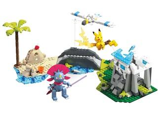 suburbia Set Batalla en la Playa Mega Construx Pokémon