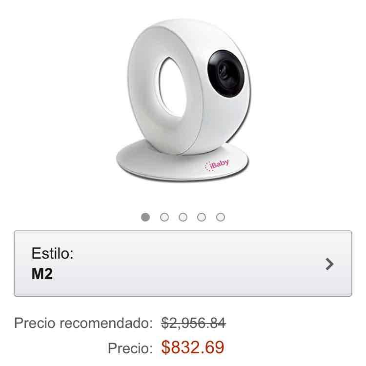 Amazon.com.mx; iHealth M2 iBaby Nueva cámara para videos y fotografías 832 (Envío gratis)