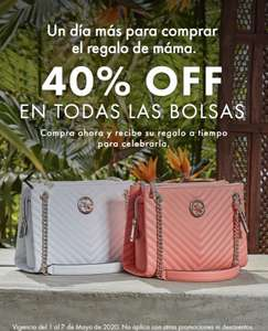 Bolsas Guess con hasta 40% off