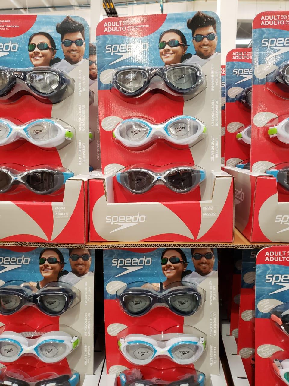 Costco: Gafas Para nadar Paquete 3 (Adultos y Niños)