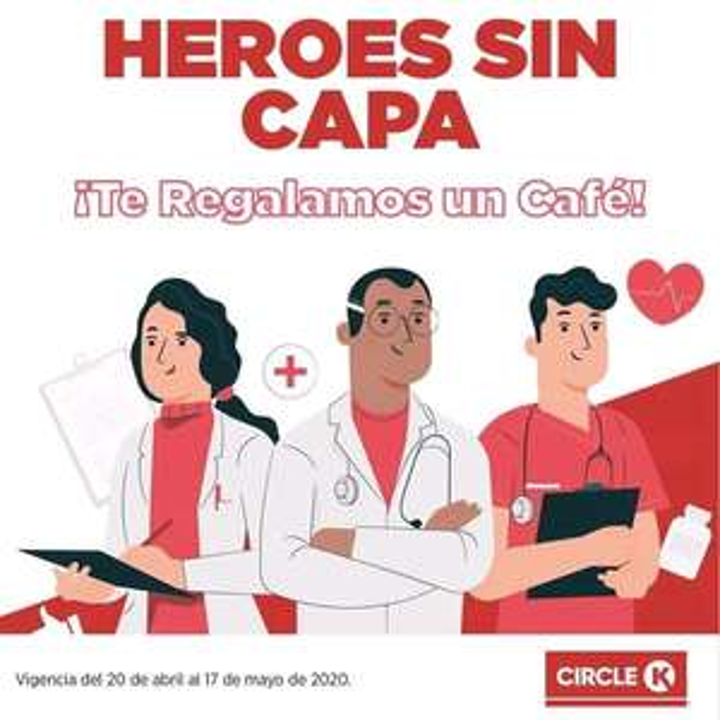 Circle K: Gratis Café Americano a Personal Médico