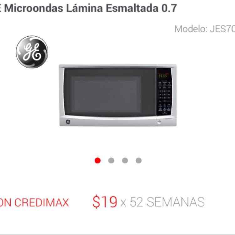 Elektra en línea: Microondas GE de 0.7 Pulgadas