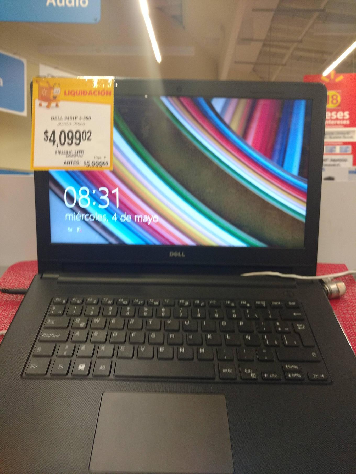 Walmart Quevedo: Dell Inspiron 14 - 3451 a $4,099
