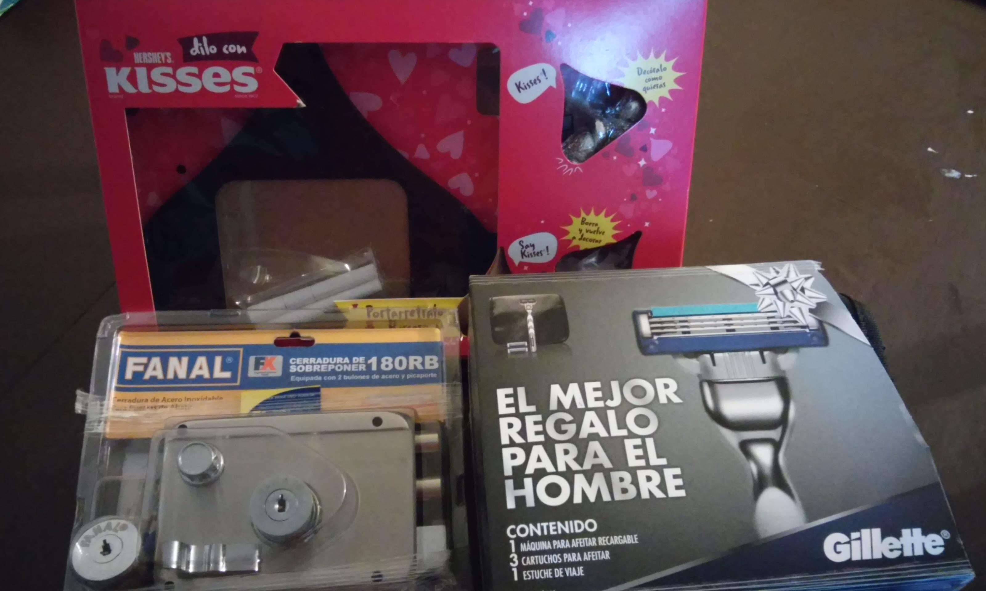 Walmart: Kit Gillette a $70.02, Cerraduras a $35.01