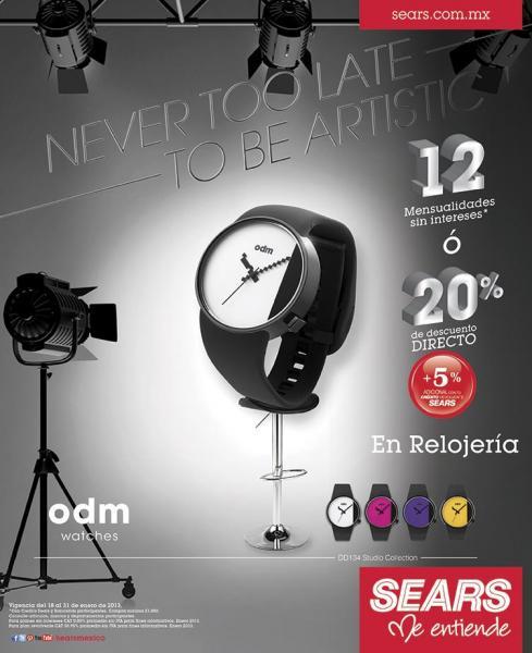 Sears: descuentos en marca Samsung, cámaras Fujifilm, relojes y más