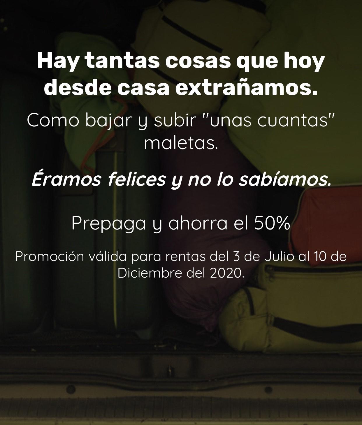 AVIS Prepaga Hoy Con 50% Y Usalo Cuando Quieras hasta dic.