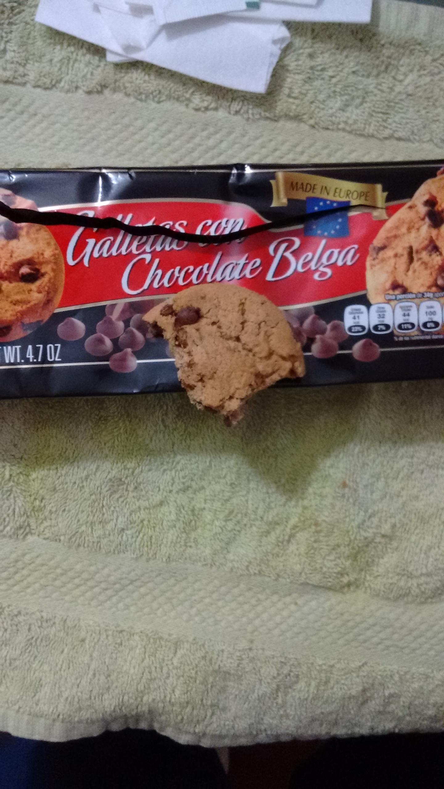 Walmart Las Flores: galletas con chispas de chocolate