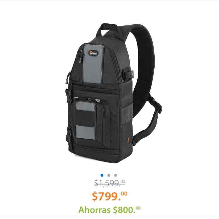 Walmart en línea: mochila para fotografos Lowepro 102AW a $799