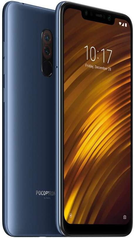 Elektra: Pocophone F1 64 GB Dual SIM - Azul Acero en 6799 a meses