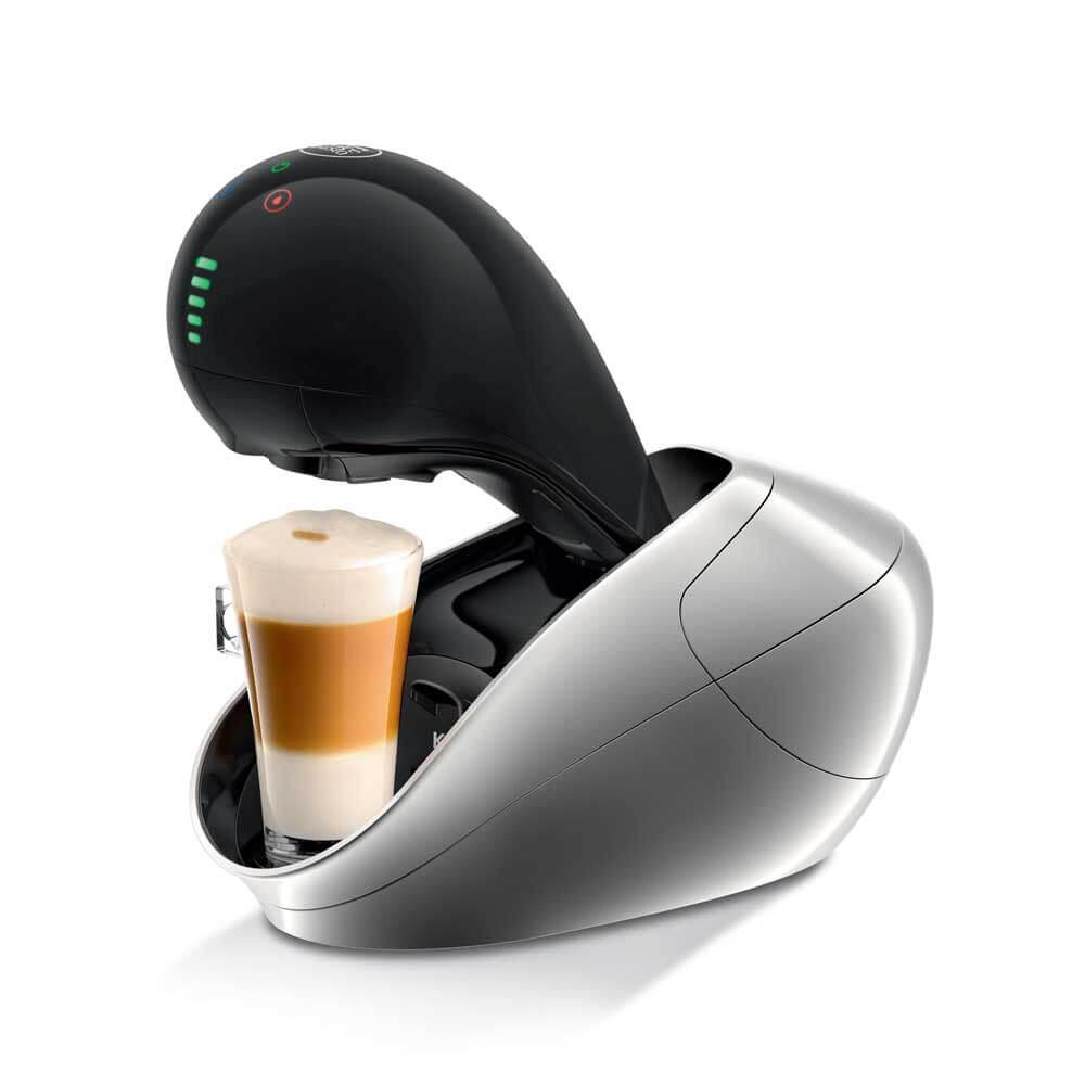 Best Buy Nescafé Dolce Gusto - Cafetera Movenza Titanio