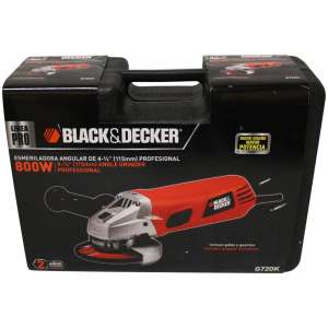 Chedraui esmeriladora Black and Decker