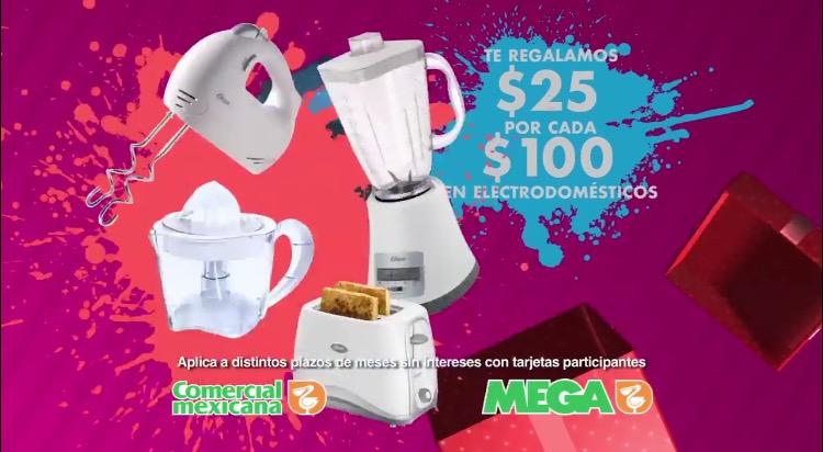 Comercial Mexicana: descuentos en electrodomésticos y línea blanca