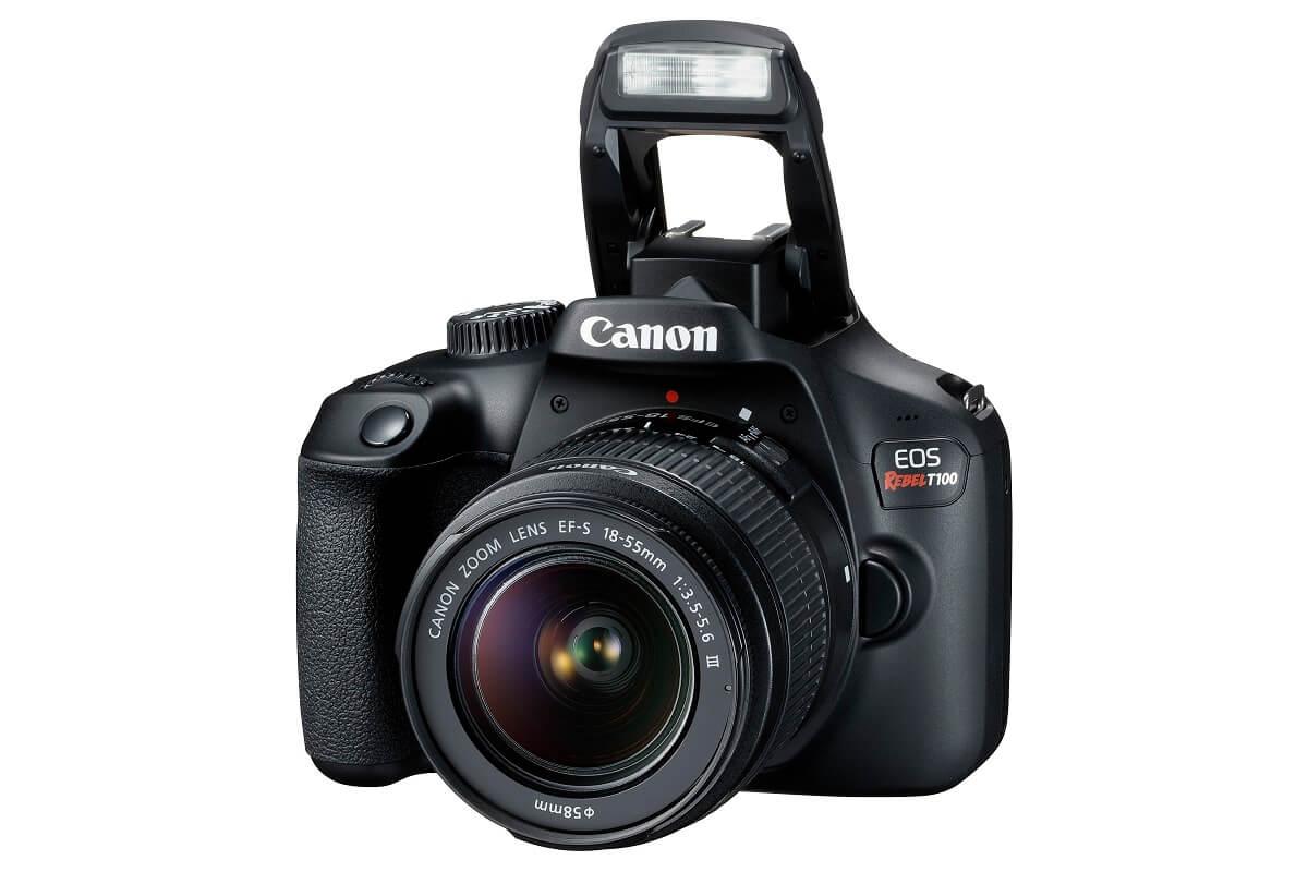 Best Buy Canon - Cámara EOS Rebel T100 18-55mm