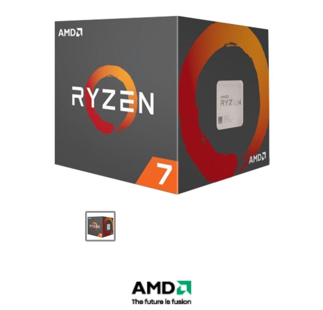 digitalife Procesador AMD RYZEN 7 2700 3.2GHz 8 núcleos Socket AM4 Con Disipador Wraith Spire LED Digitalife