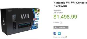 Sam's Club: consola Wii con Wii Sports y Wii Sports Resort $1,498