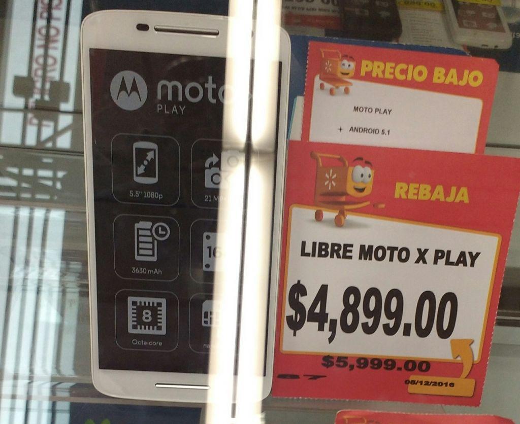Walmart Félix Cuevas Moto. X play
