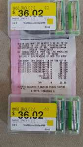 Bodega Aurrerá: 2 cartuchos Gilette Match 3 Sensitive por $36.02