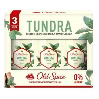 Sam's Club: Paquete de 3 Desodorantes Old Spice Tundra. Hamburguesa Reb Eye + Papás + Refresco por $79.