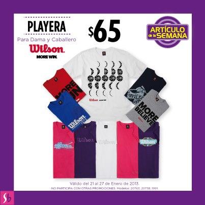 Artículo de la semana en Suburbia: playera para dama y caballero $65