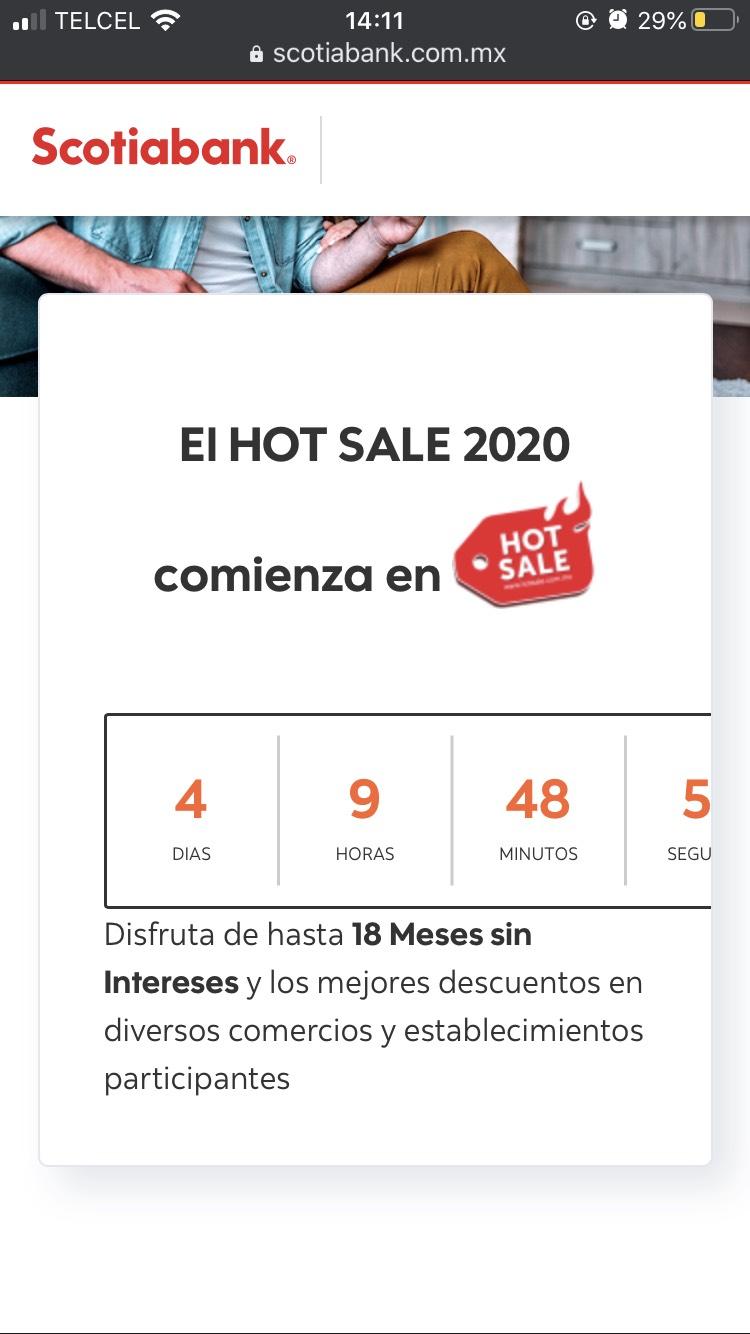 Hot Sale 2020 en Scotiabank