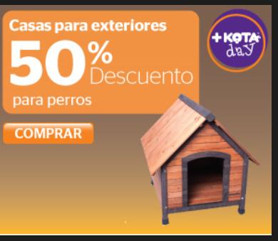 +Kota: 50% de descuento en selección de casas para exteriores