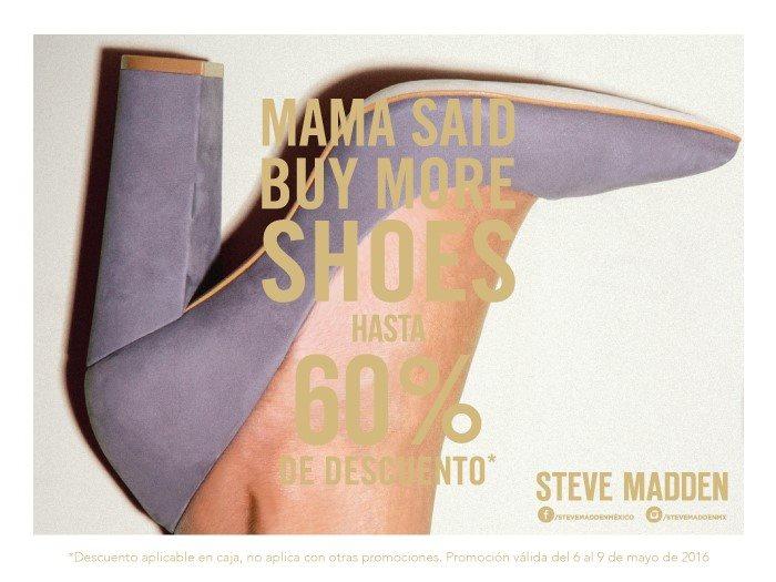 Steve Madden: Hasta 60% en toda la tienda