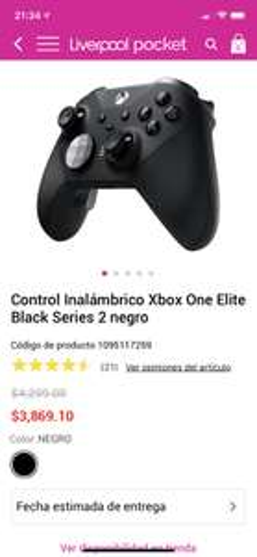 Liverpool: Control Xbox One Elite Series 2