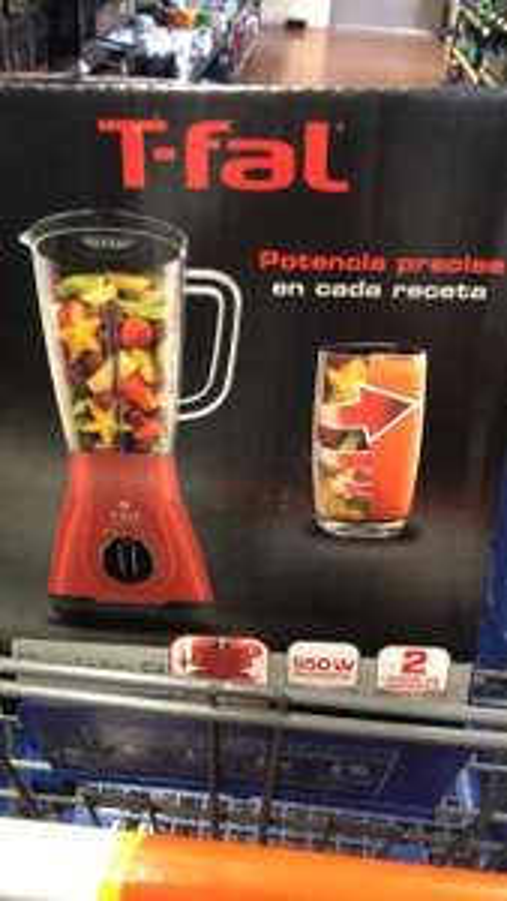 Walmart queretaro licuadora tfal roja modelo Nuevo