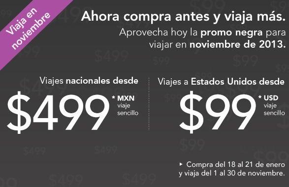 Volaris: vuelos desde $499 en México y 99 dólares a USA para viajar en noviembre