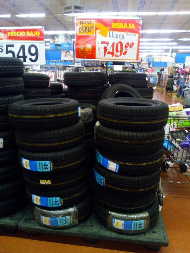 Walmart: llanta R14 goodyear en oferta