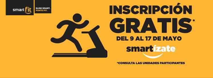 Smart Fit: Inscripción gratis durante 9 días. Del 9 al 17 de mayo