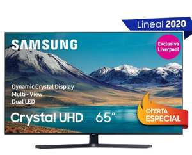 "liverpool Samsung 4K UHD 65"" Modelo 2020 UN65TU8500FXZX + Barra de Sonido de Regalo"