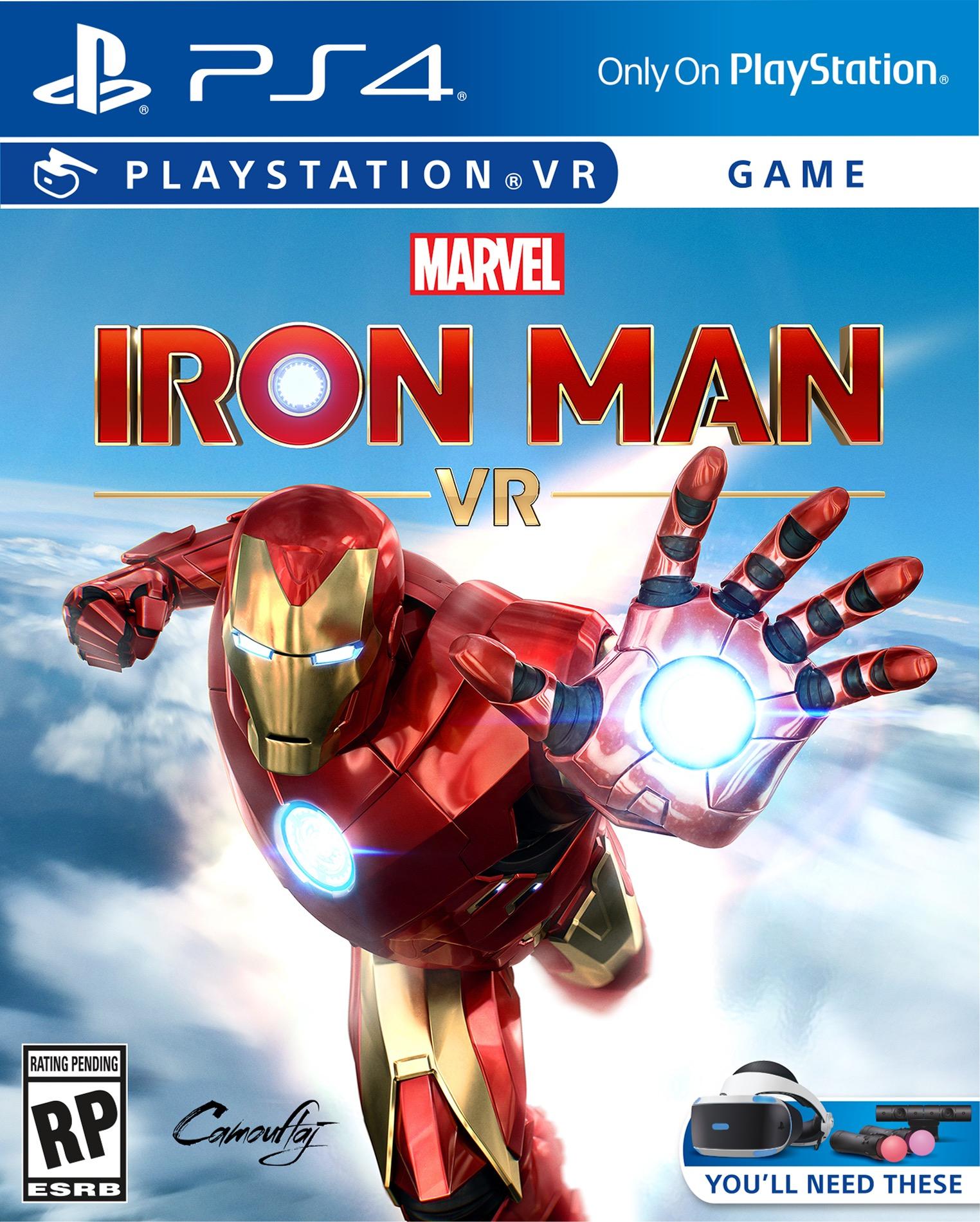 PS Store: Juega Demo Marvel's Iron Man VR y Obtén una Armadura Gratis PS4