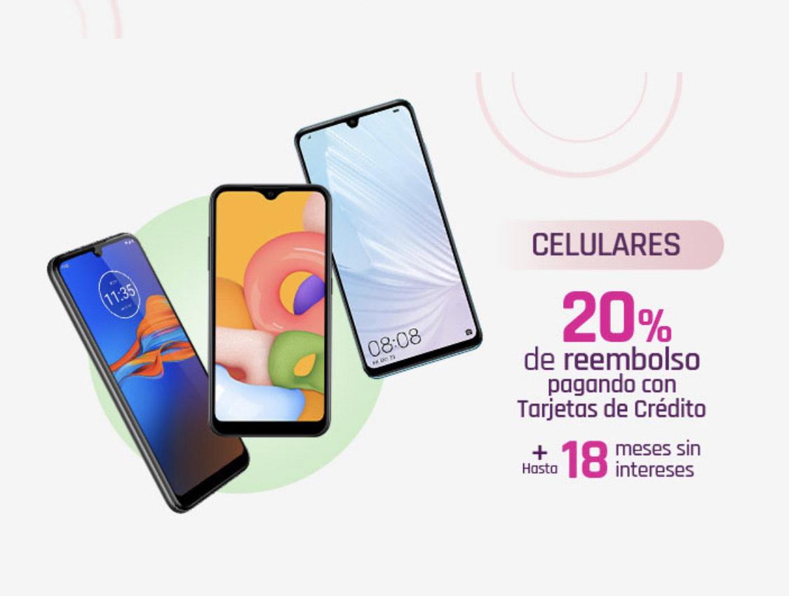Suburbia Hot Sale: 20% bonificación en celulares