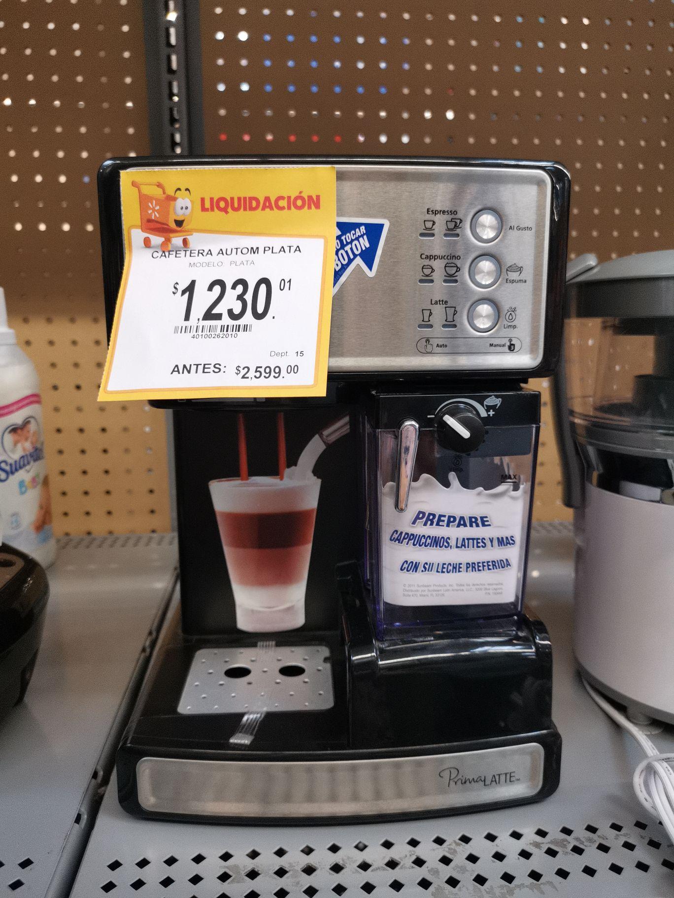 Walmart: Cafetera para cappuccino Oster