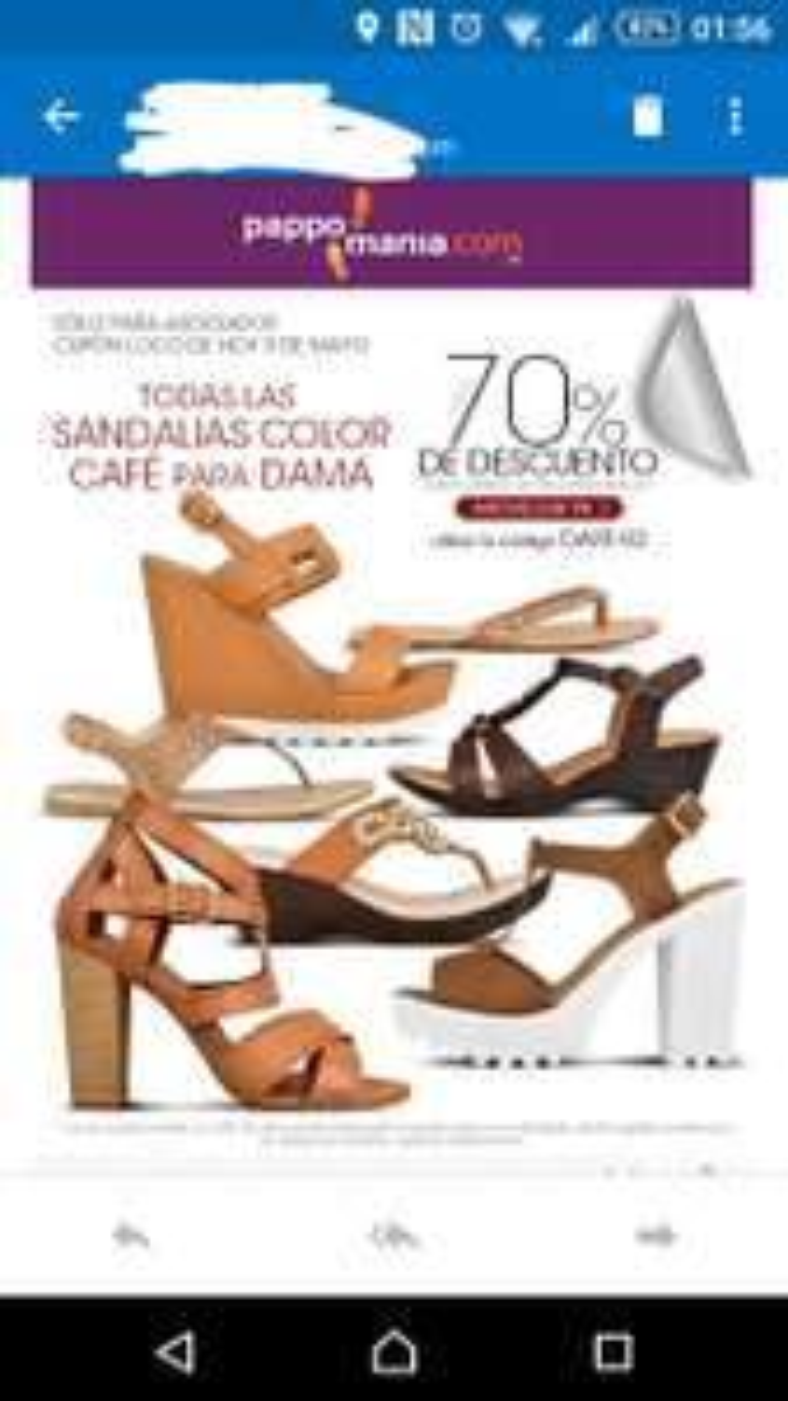 Pappomania: hasta 70% de descuento en sandalias color café con cupón