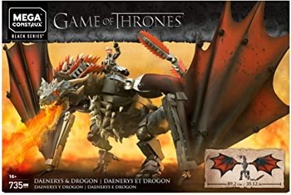 Amazon: Mega construx Game of thrones dragon drogon