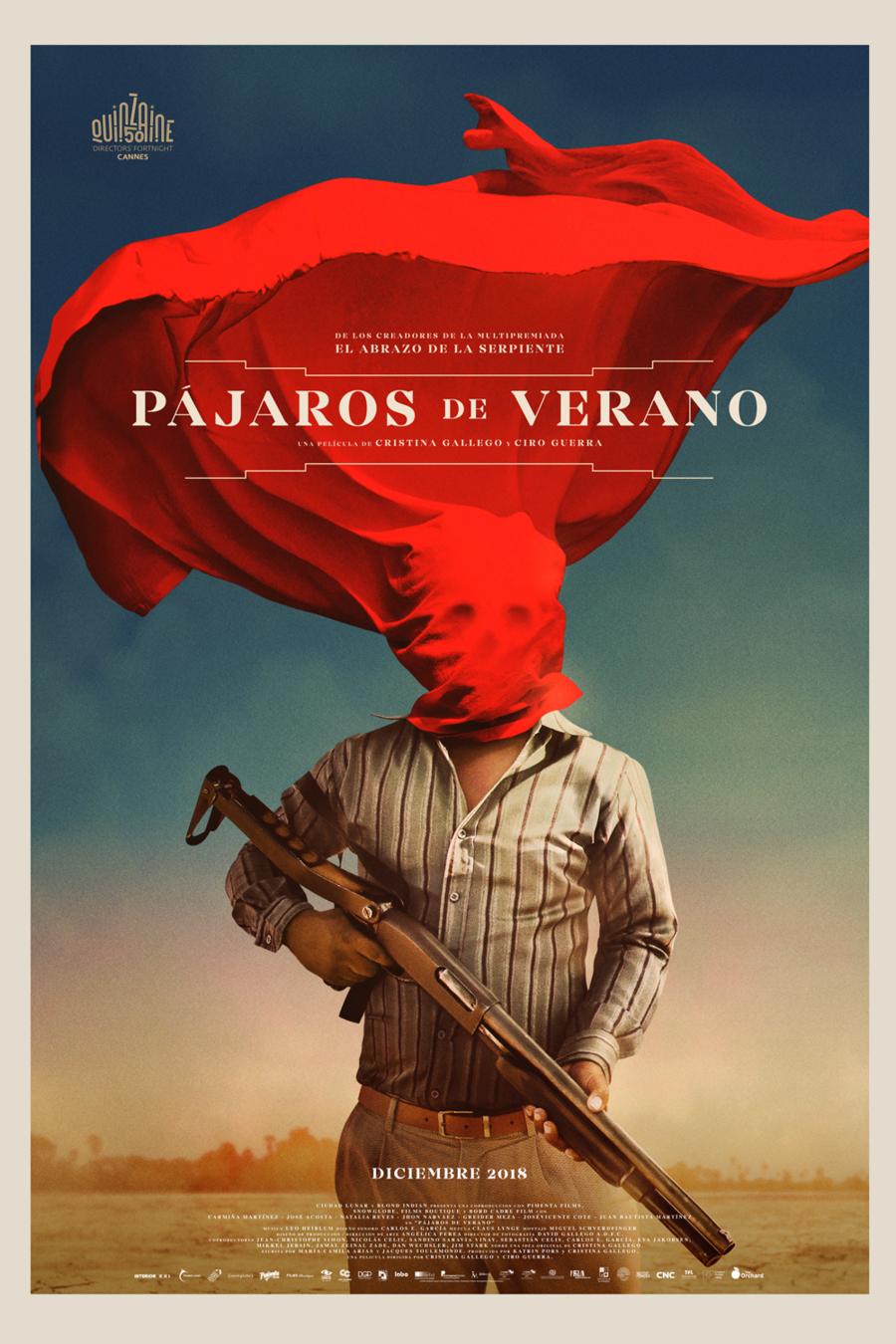 """FilmInLatino: """"Pájaros de Verano"""" gratis por 24 horas Pelicula multipremiada. Y más contenido gratis"""
