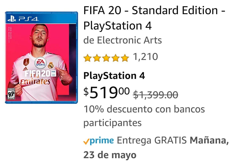 Amazon: Fifa 20