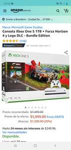 Amazon: Xbox one S 1 terabyte