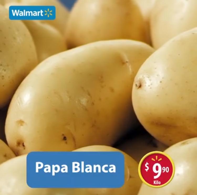 Martes de frescura en Walmart mayo 10: Papa Blanca a $9.90 el kilo y más