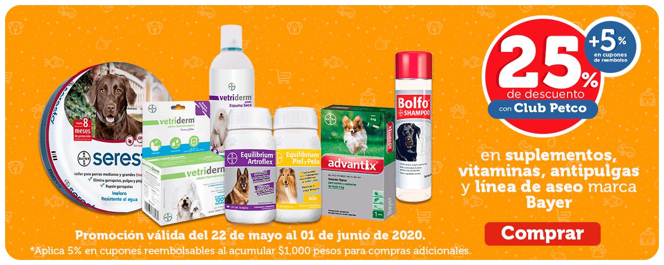 Petco Hot Sale: Descuentos varios y 3 MSI - (Citi 20% adicional)
