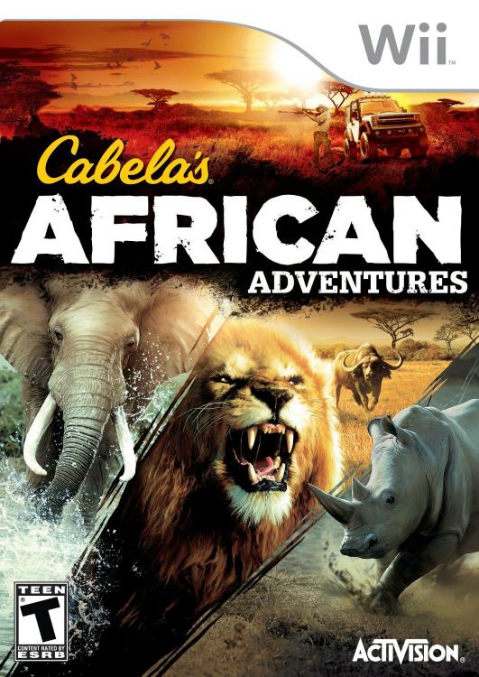 AMAZON USA: juego de Activision Cabela's African Adventure