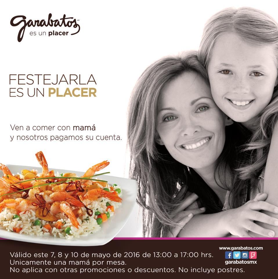 Garabatos: Ve a comer con tu mami y su consumo es gratis!