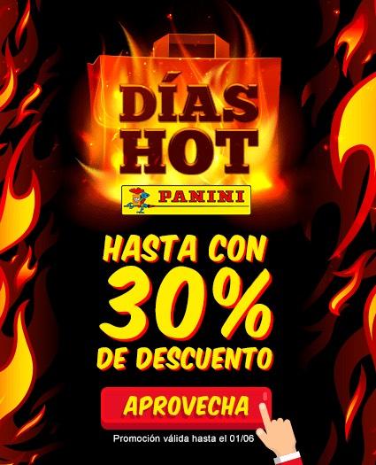 Panini: Hot sale Estampas hasta el 50%, Mangas hasta el 20%